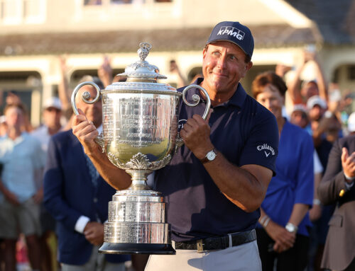 Phil wins at 50 and there is hope for us all!